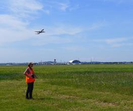 Terrain outarde, Aéroport de Lyon, Jérôme Baveux, Biotope