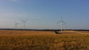Éolienne, région nancéienne, par Thomas Roussel, Biotope.