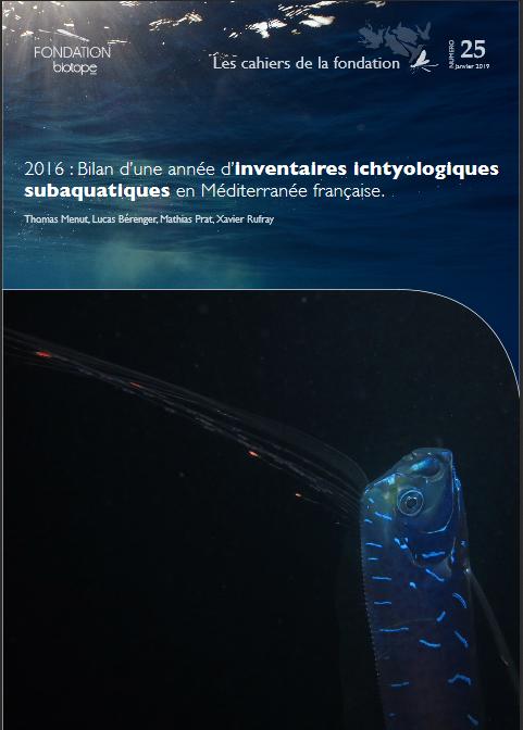 Ivenaires ichtyologiques subaquatiques en Méditerranée française