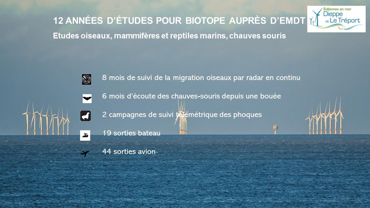 parc éolien en mer de Dieppe - Le Tréport