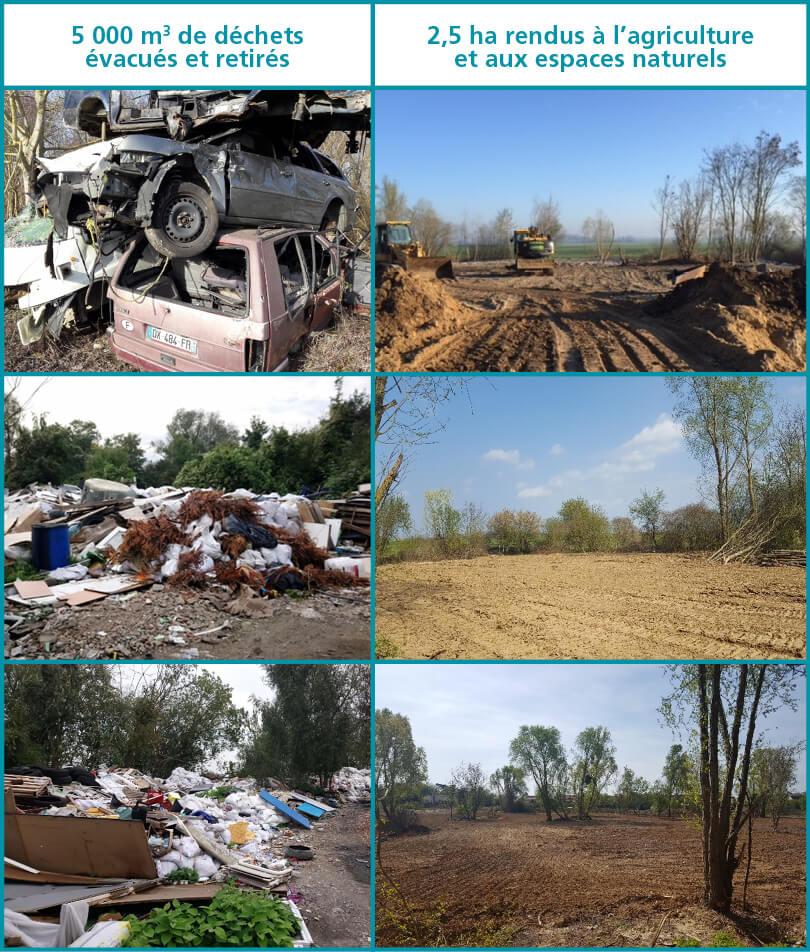 Réhabilitation du site du Bois-du-Chêne à Isles-lès-Villenoy